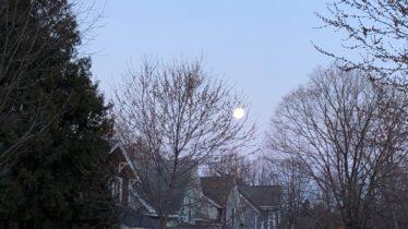 Passover moon 2
